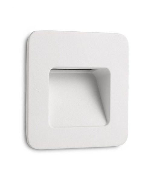 Lámpara empotrable blanca NASE-1 LED