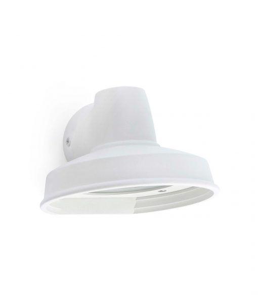Lámpara exterior aplique blanco BRONX