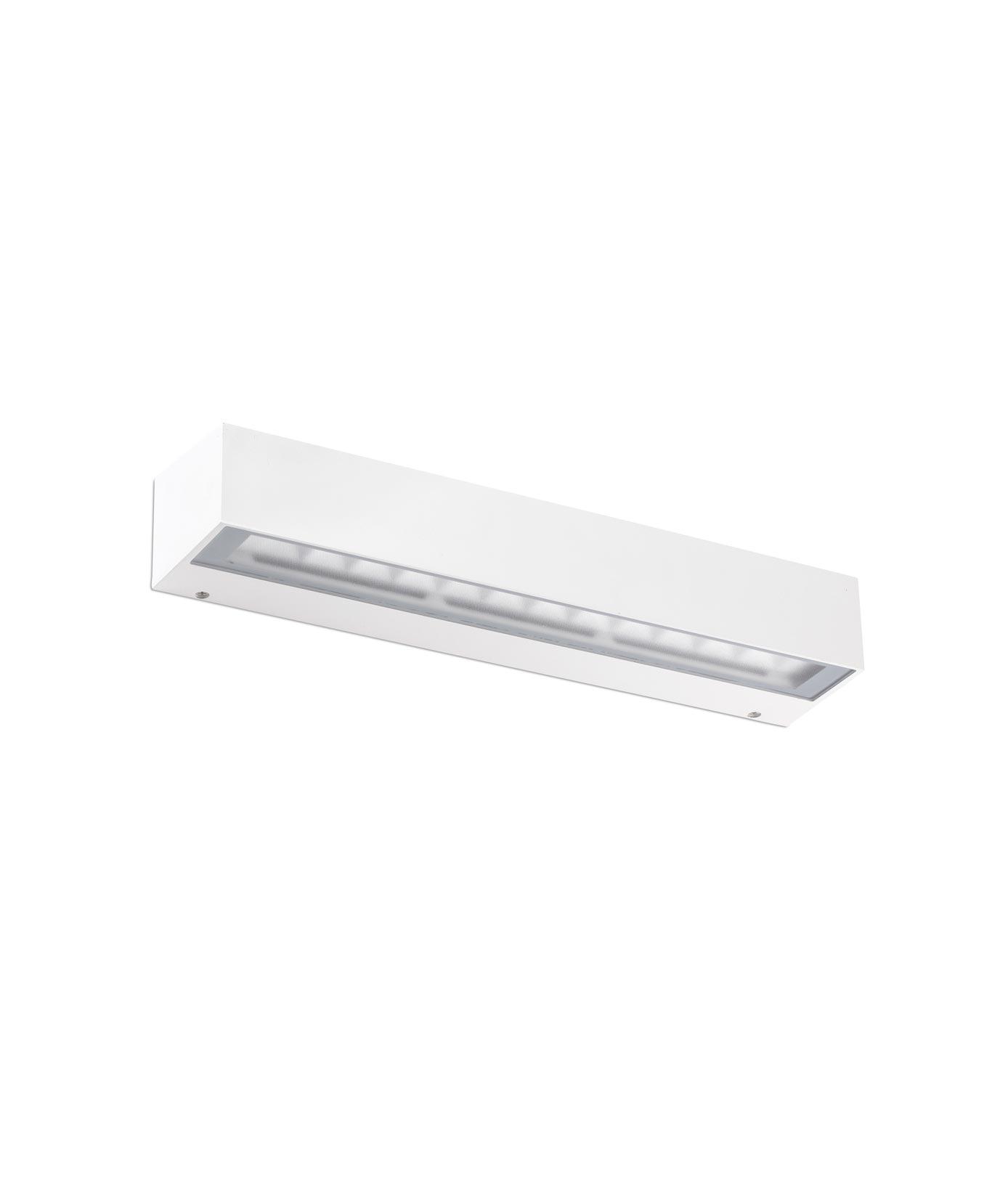 Luminaria blanca aplique exterior TACANA LED