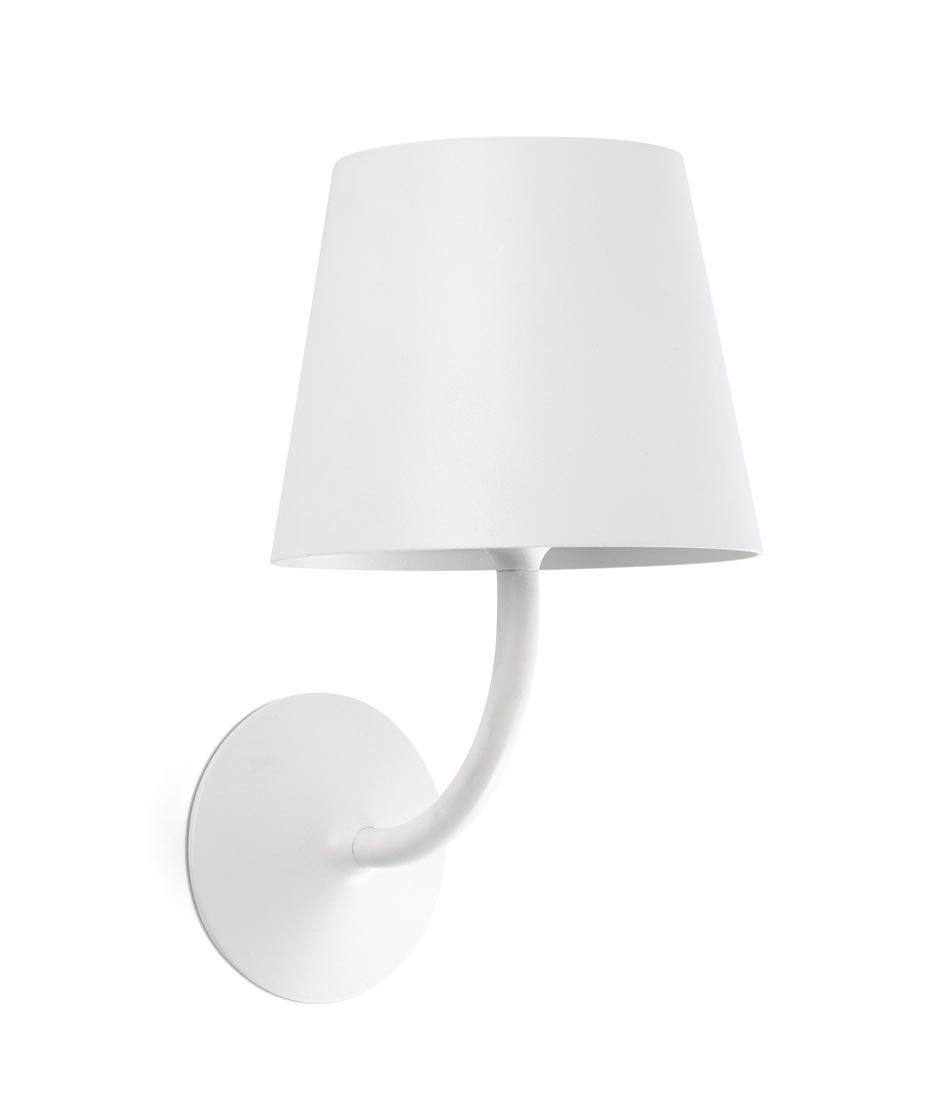 Luminaria clásica renovada blanca TOC LED