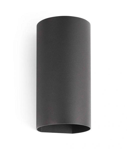 Luminaria exterior aplique gris oscuro BRUC LED