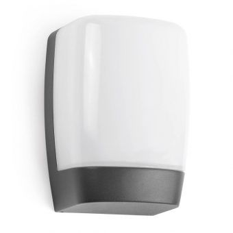 Luminaria gris oscura exterior POL LED