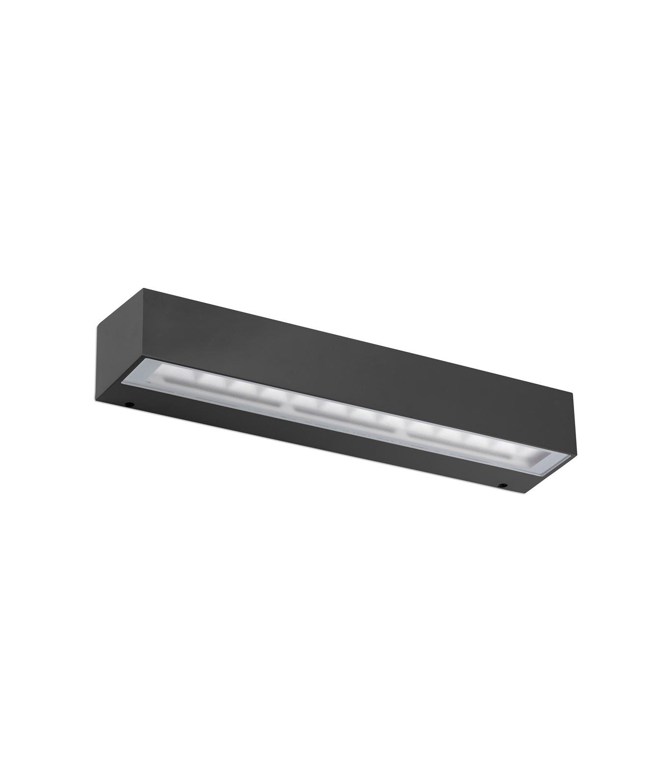 Luminaria gris oscura exterior TACANA LED
