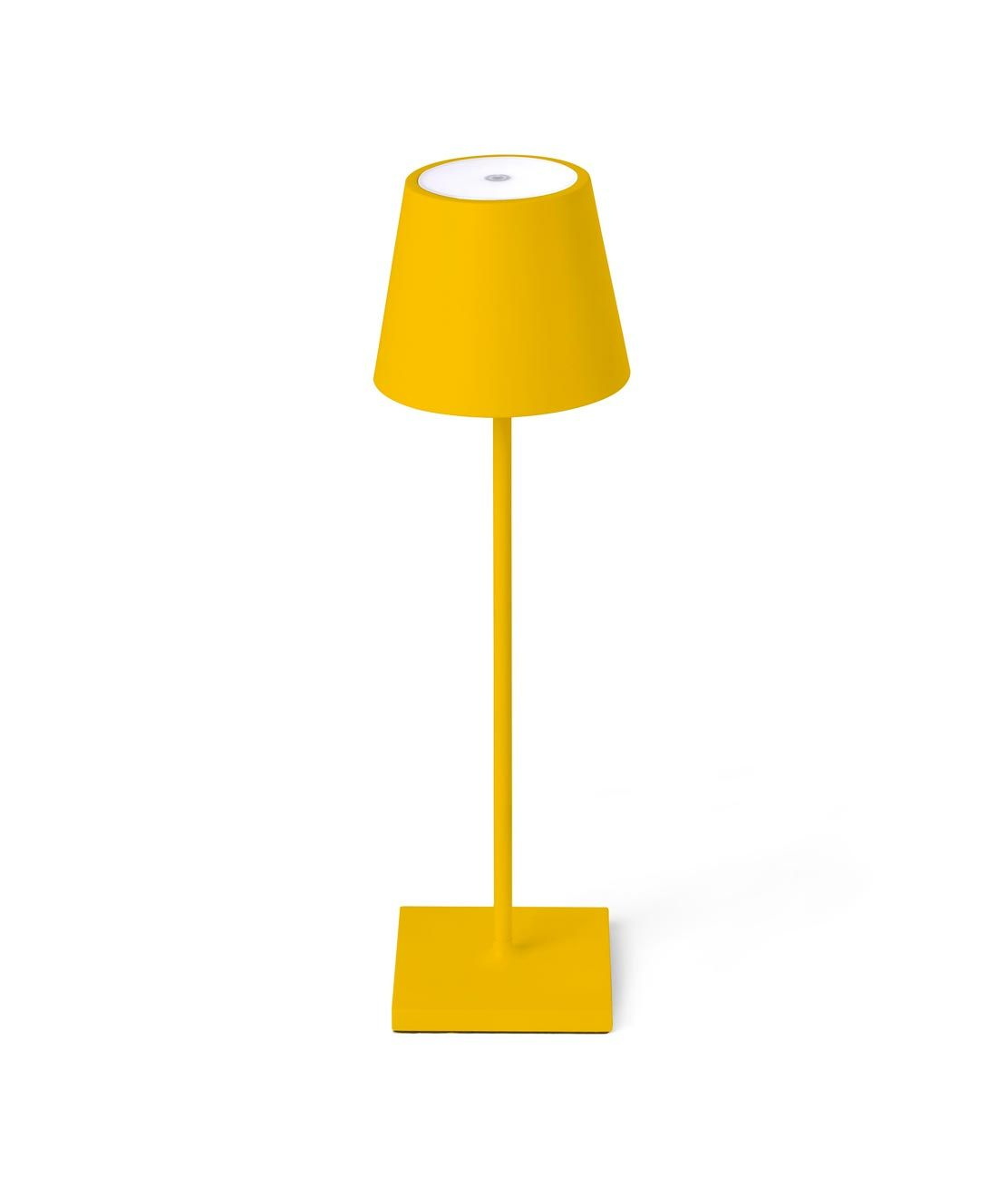 Luminaria portátil amarilla TOC LED