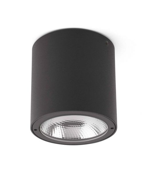 Plafón para exterior gris oscuro GOZ LED