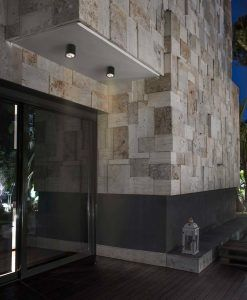 Plafón para exterior gris oscuro GOZ LED ambiente