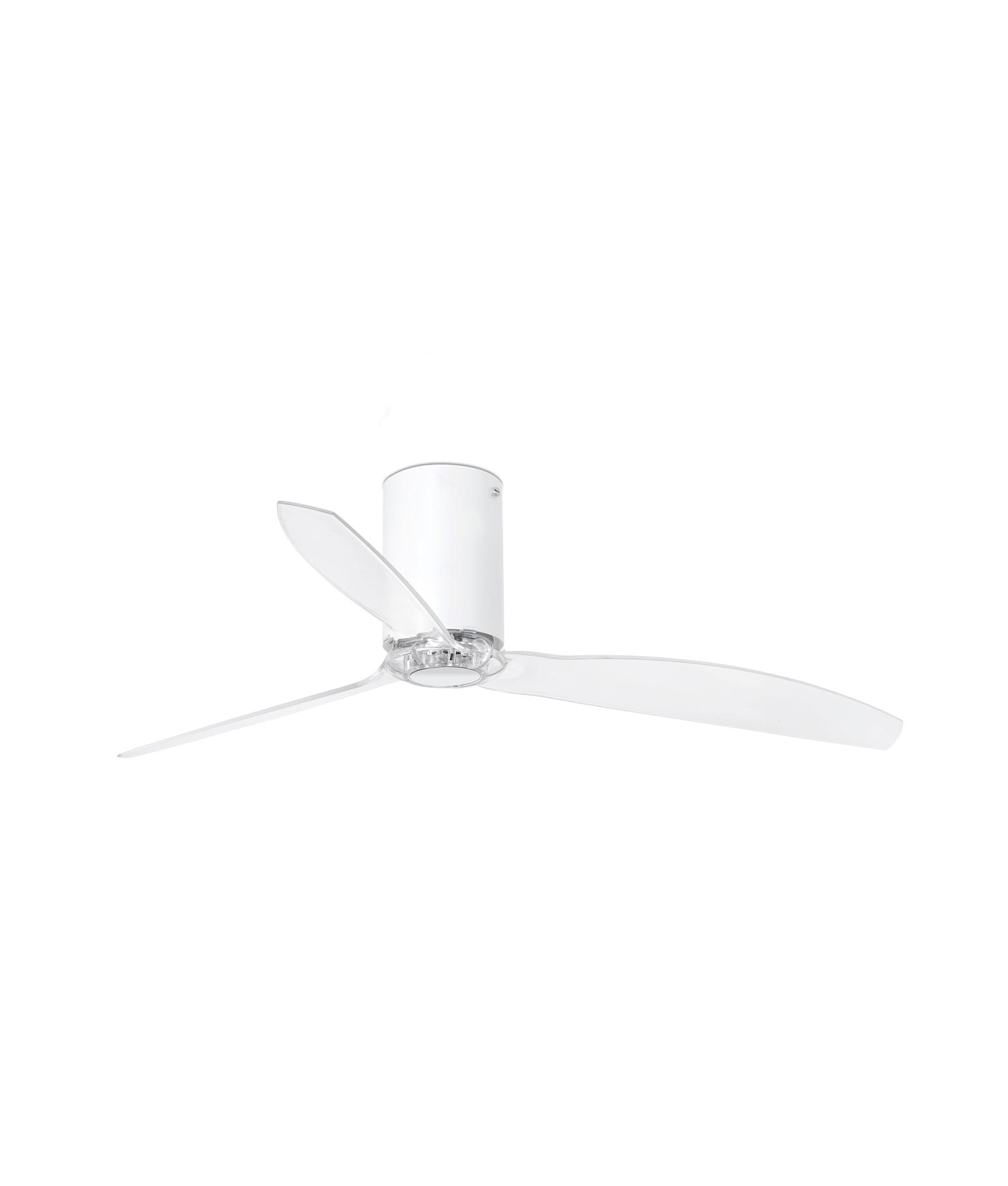Ventilador blanco y transparente MINI TUBE FAN