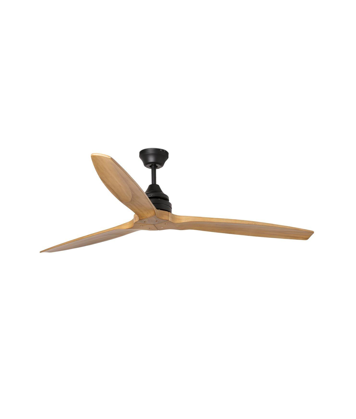 Ventilador palas de madera ALO