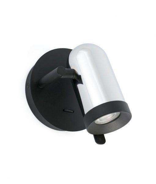 Aplique cromo minimalista 1 luz ORLEANS