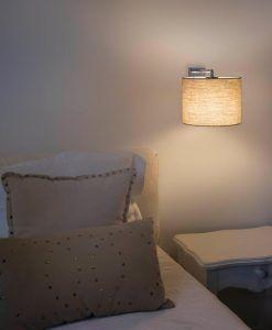 Aplique lino diseño elegante SAHARA ambiente