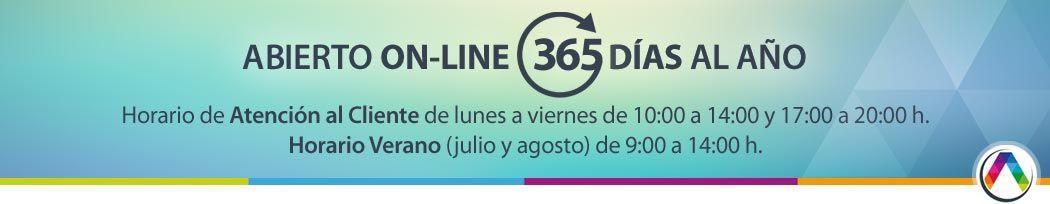 Abierto on-line los 365 días al año - La Casa de la Lámpara