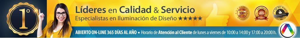 Líderes en Calidad & Servicio on-line La Casa de la Lámpara