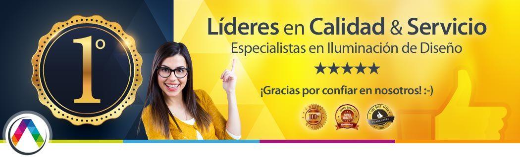 La Casa de las Lámparas es líder en Calidad & Servicio 100% on-line