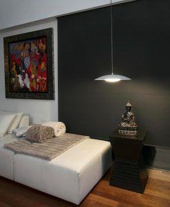 Lámpara colgante blanca SLIM LED ambiente