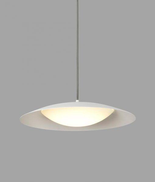 Lámpara colgante blanca SLIM LED detalle 2
