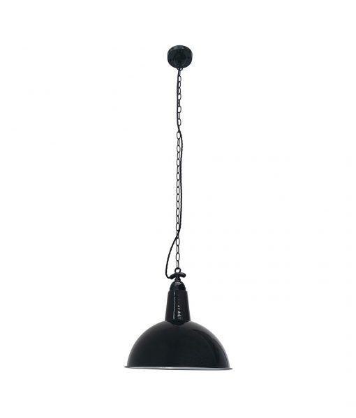 Lámparas de techo retro negra LOU