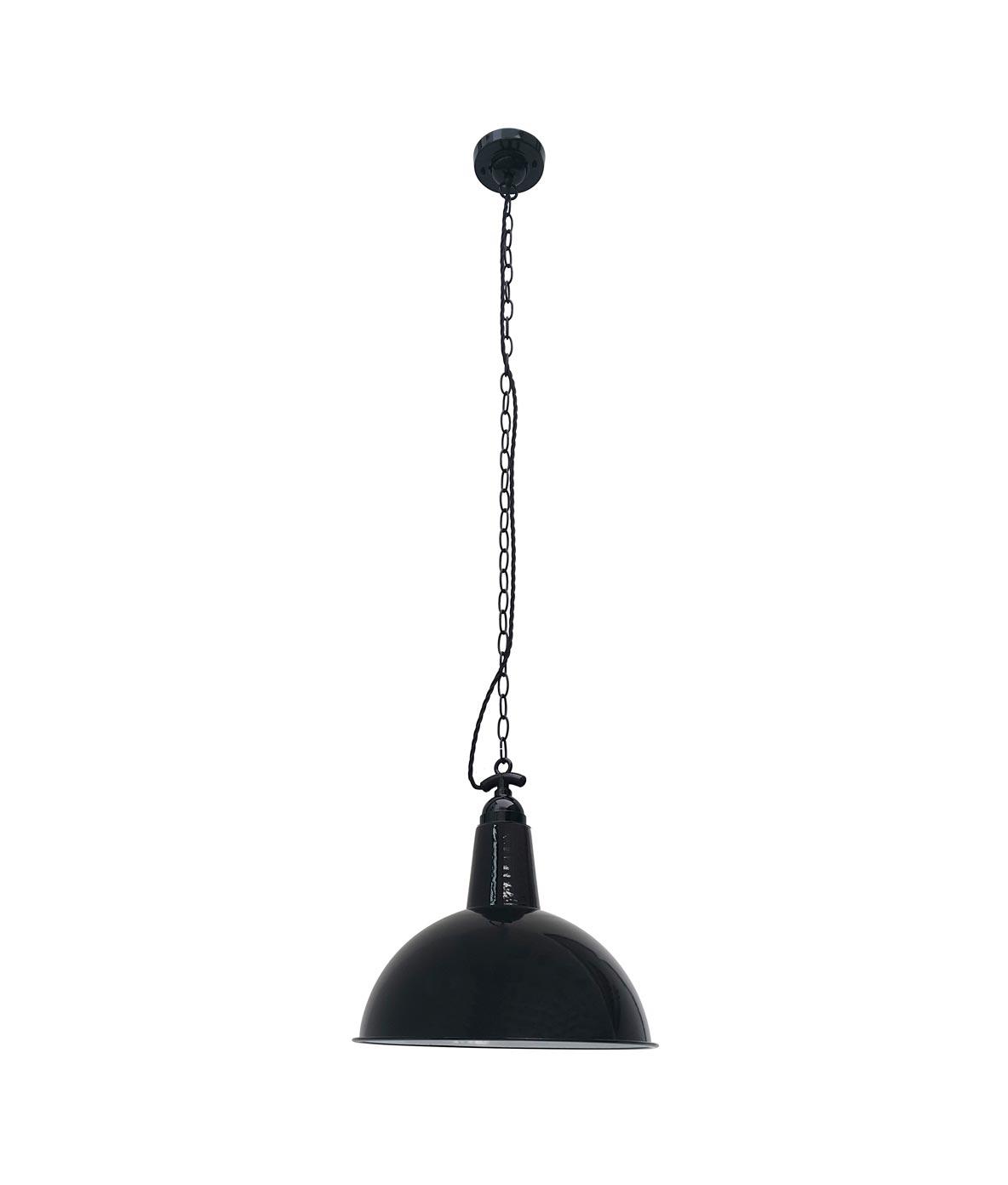 L mparas de techo retro negra lou la casa de la l mpara - La casa de las lamparas barcelona ...