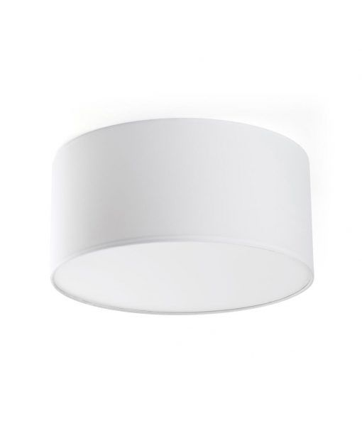 Plafón con luz dimmable 40 cm blanco SEVEN LED