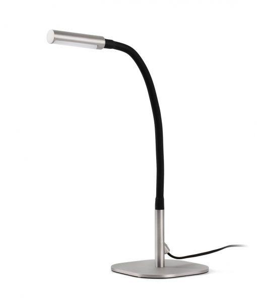 Sobremesa escritorio articulado níquel SERP LED