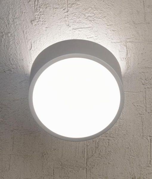 Detalle luz aplique circular MINI