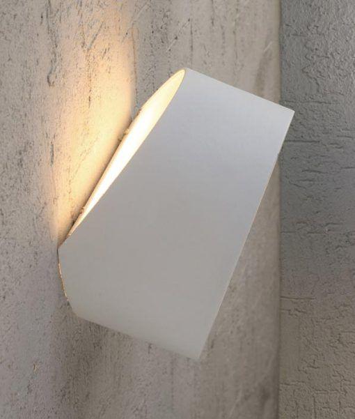 Detalle luz aplique cuadrado MINI