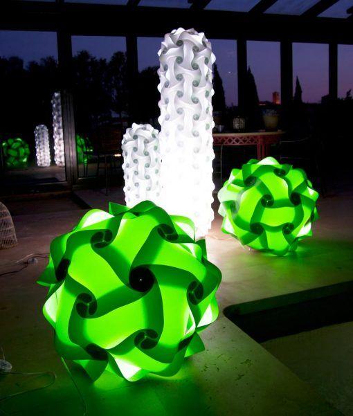 Lámpara de suelo 70 cm de altura COL ambiente 2