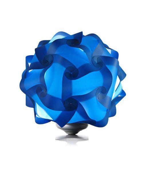 Lámpara de mesa 42 cm construcción modular COL azul