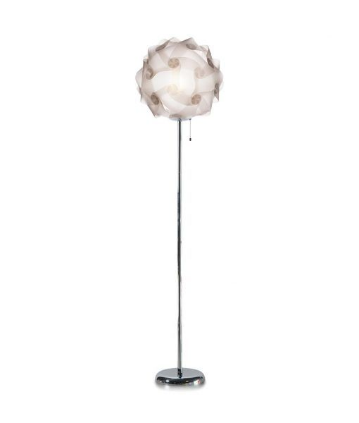 Lámpara de pie 168 cm de altura COL translúcida