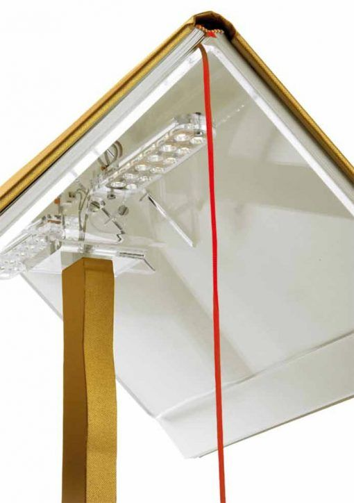 Modelos lámpara de mesa BOOKLAMP LED detalles
