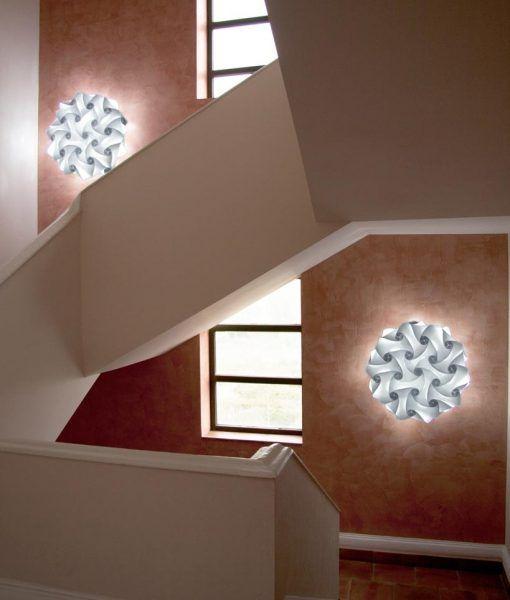 Lámparas aplique de pared 60 cm diámetro NUBE ambiente 3