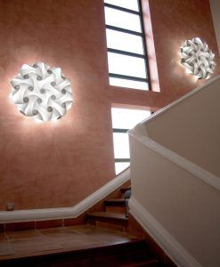 Lámparas aplique de pared 60 cm diámetro NUBE ambiente 4