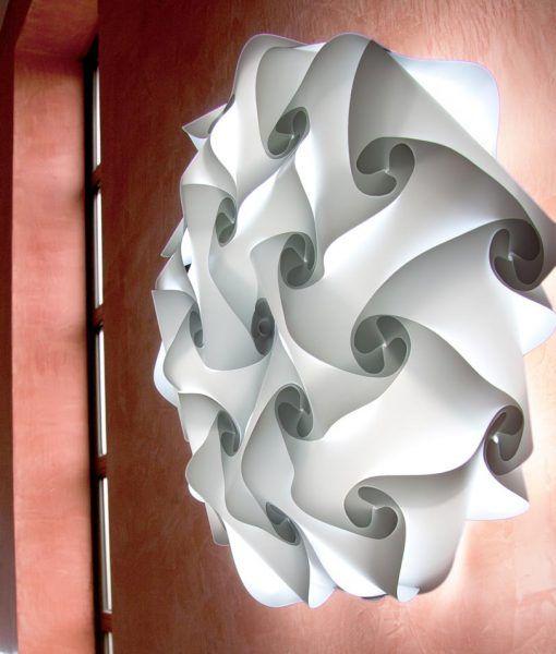 Lámparas aplique de pared 60 cm diámetro NUBE ambiente 2