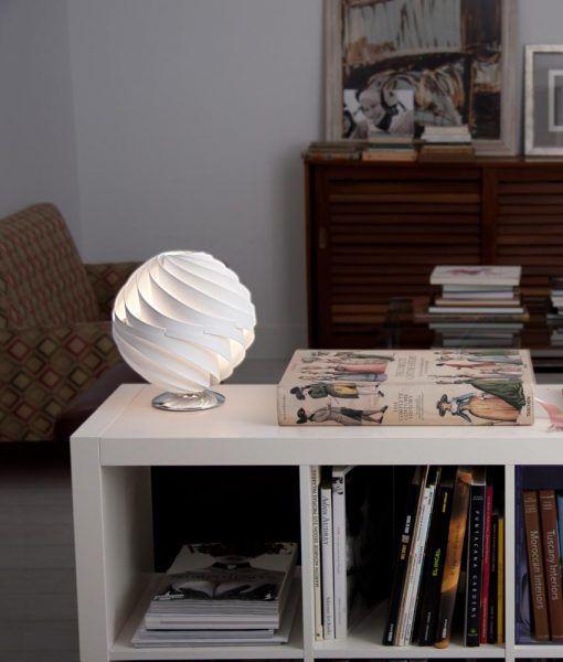 Ambiente lámpara de mesa esfera TWISTER