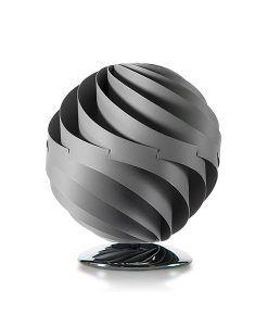 Lámpara de mesa 27 cm esfera TWISTER gris