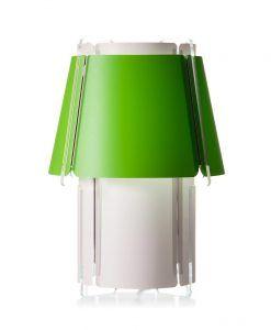Lámpara de suelo 110 cm de alto ZONA verde lima