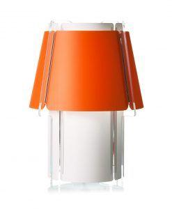 Lámpara de suelo 110 cm de alto ZONA naranja