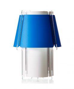 Lámpara de suelo 110 cm de alto ZONA azul