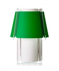 Lámpara de suelo 110 cm de alto ZONA verde