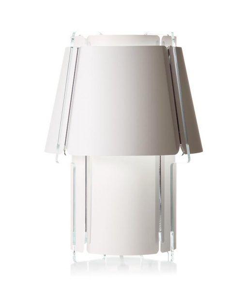 Lámpara de mesa 56 cm de alto ZONA blanca