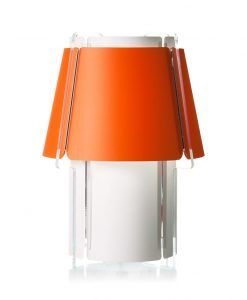 Lámpara de mesa 56 cm de alto ZONA naranja