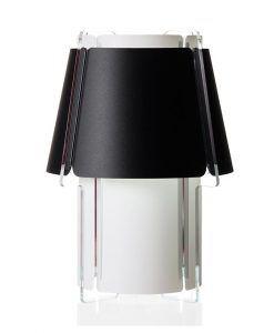 Lámpara de mesa 56 cm de alto ZONA negra