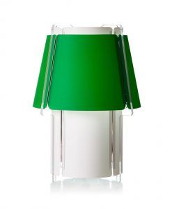 Lámpara de mesa 56 cm de alto ZONA verde