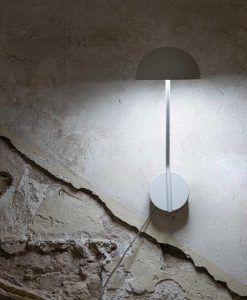 Aplique blanco clásico renovado PURE LED ambiente