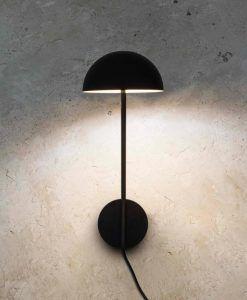 Aplique original negro clásico renovado PURE LED ambiente