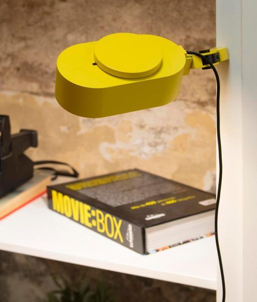 Flexo regulable amarillo INVITING LED ambiente 2