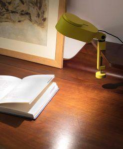 Flexo regulable amarillo INVITING LED ambiente 3