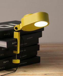 Flexo regulable amarillo INVITING LED ambiente