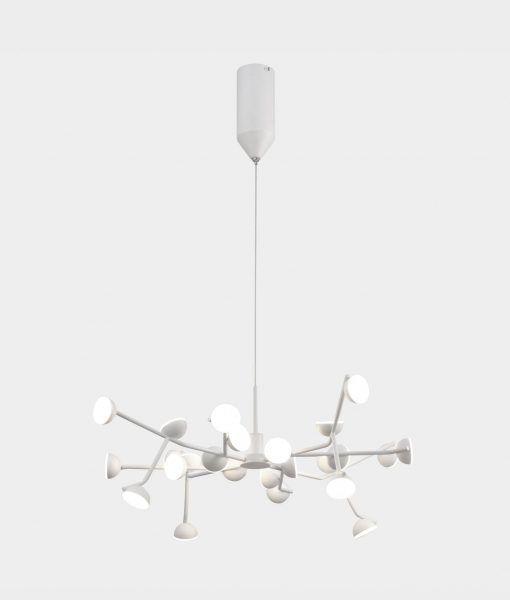 Lámpara de comedor blanca ADN LED
