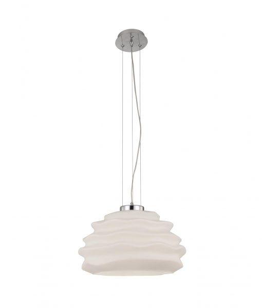 Lámpara de cristal opal NUBOLE
