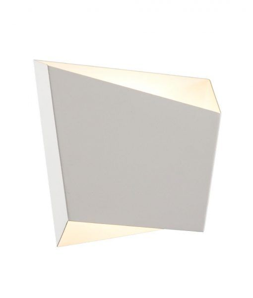 Lámpara de dormitorio blanca ASIMETRIC
